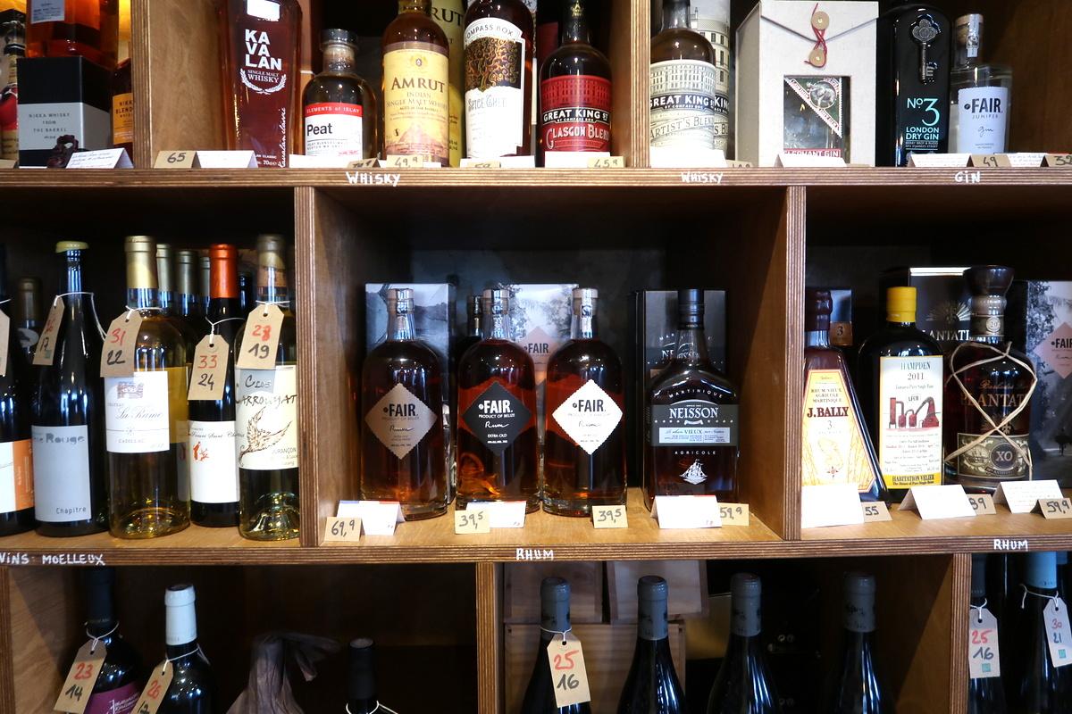 Bordeaux - La ligne rouge, bar à vin