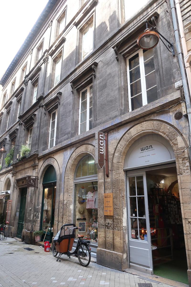 Visite de Bordeaux - Façades d'immeubles