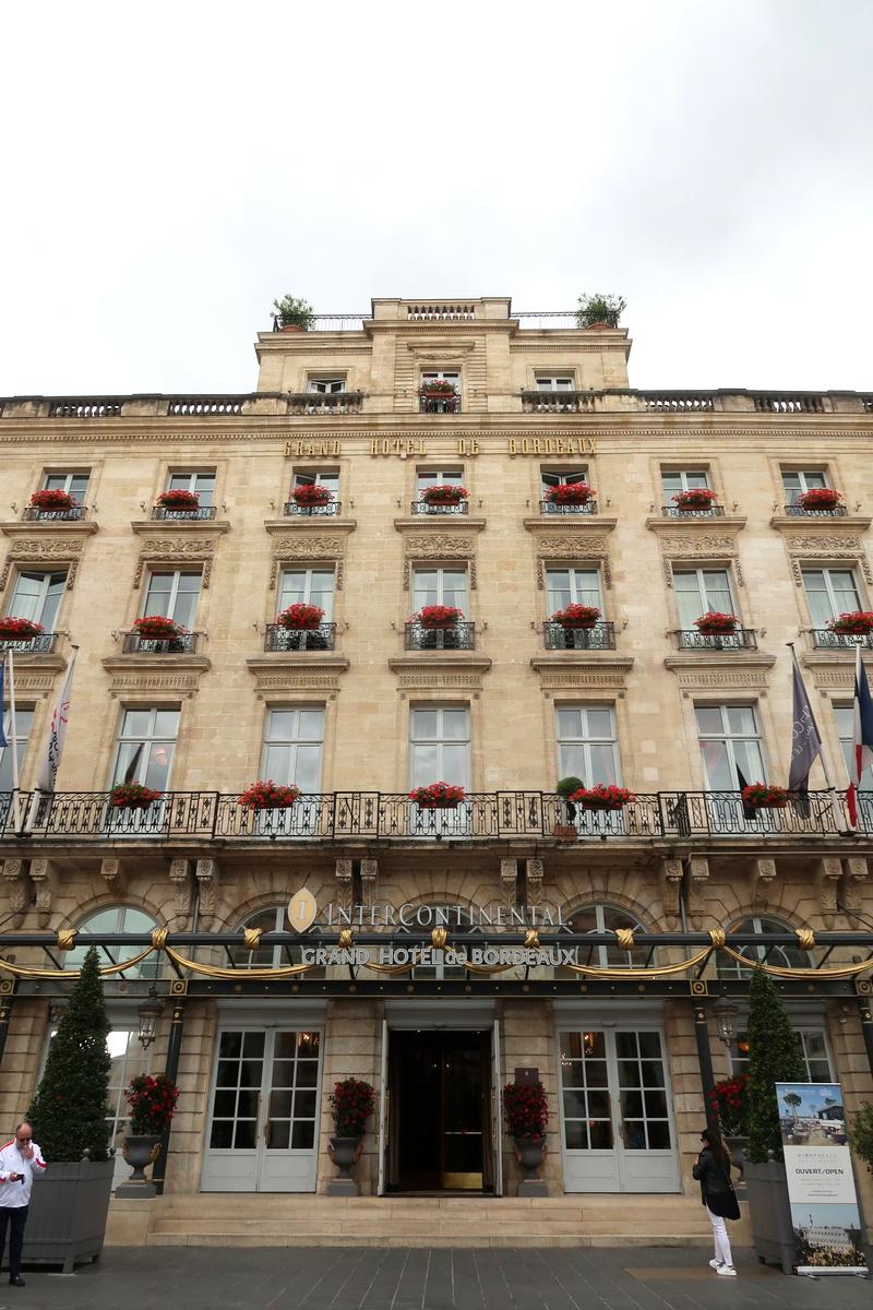 Visite de Bordeaux - Grand hôtel