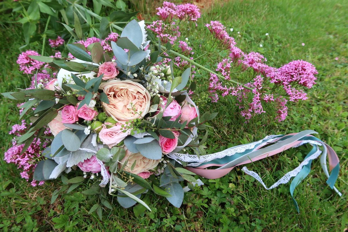 Bouquet de mariée - Vert tige Langres, Haute-Marne