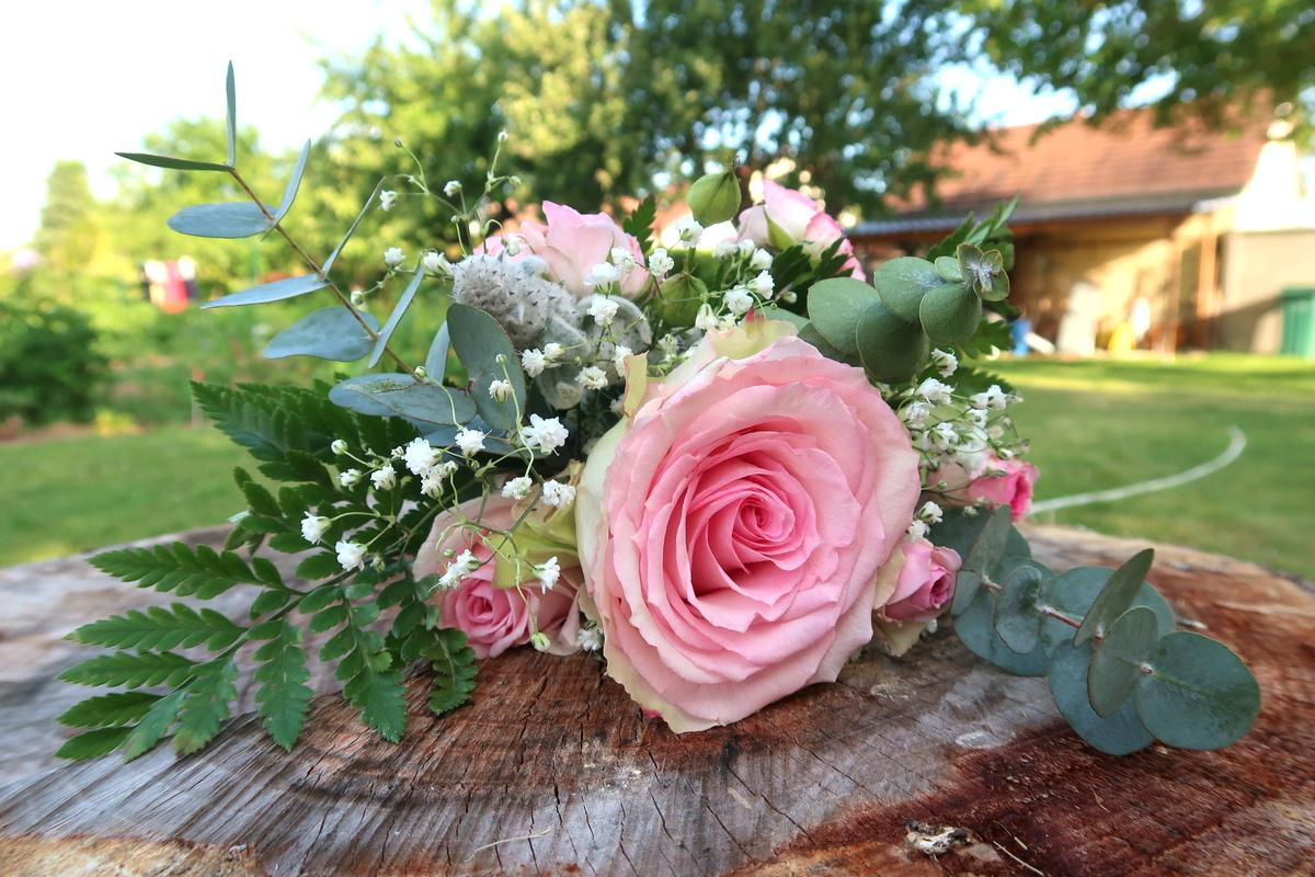 Bouquet de témoin - Vert tige Langres, Haute-Marne