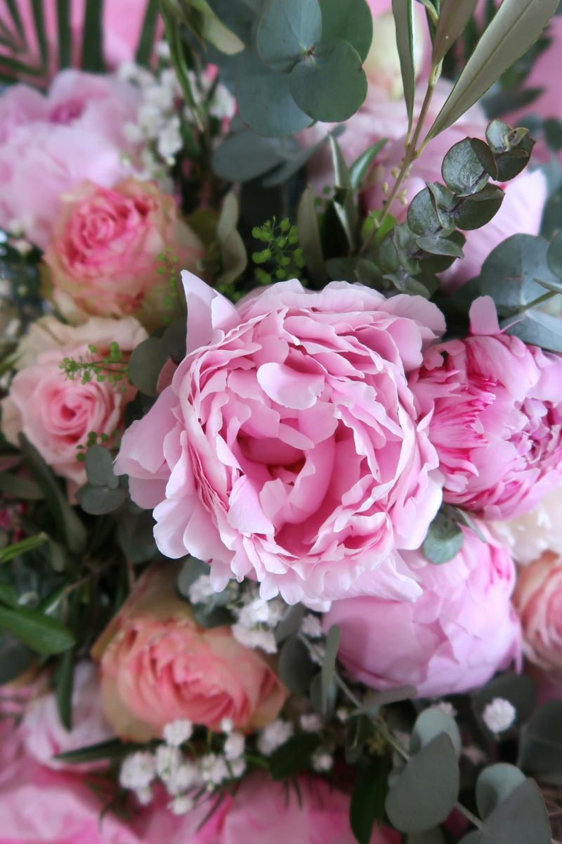 Bouquet de mariage - Vert tige Langres, Haute-Marne