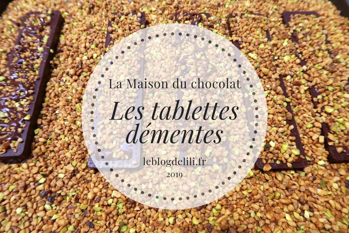 Maison du chocolat - Tablettes démentes