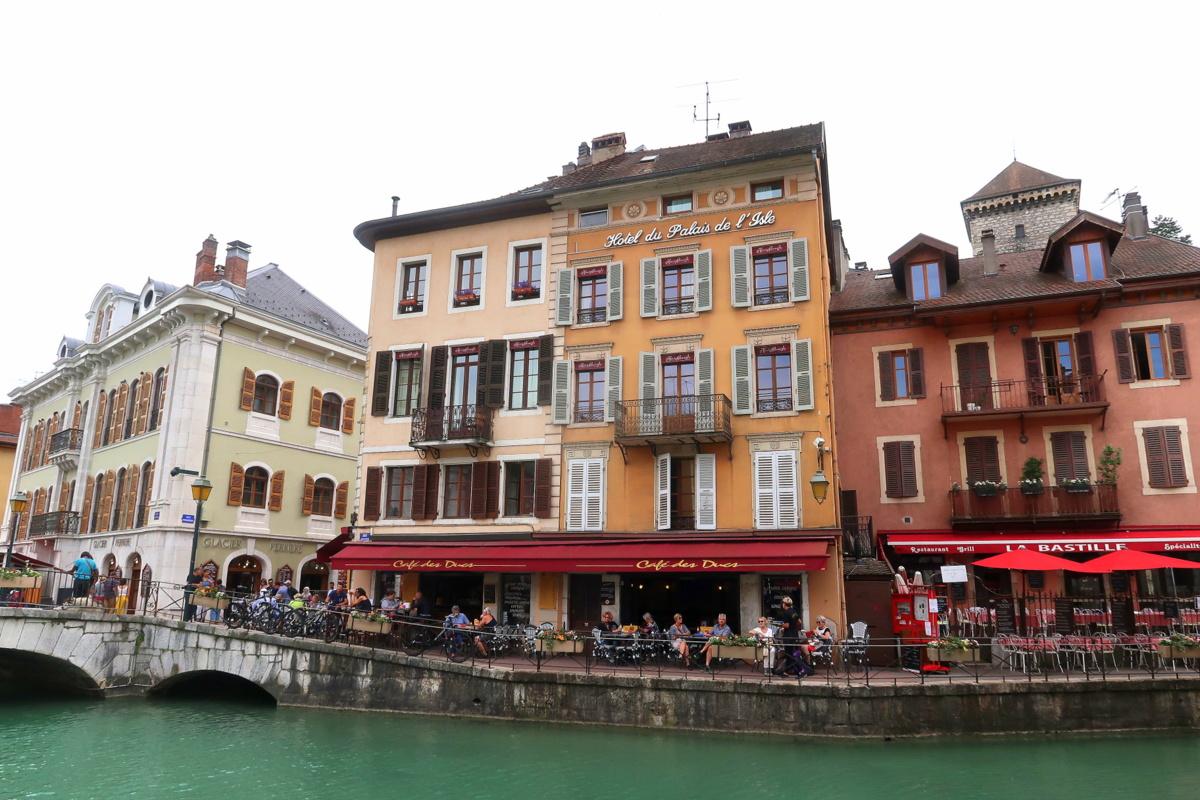 Promenade à Annecy, en Haute-Savoie