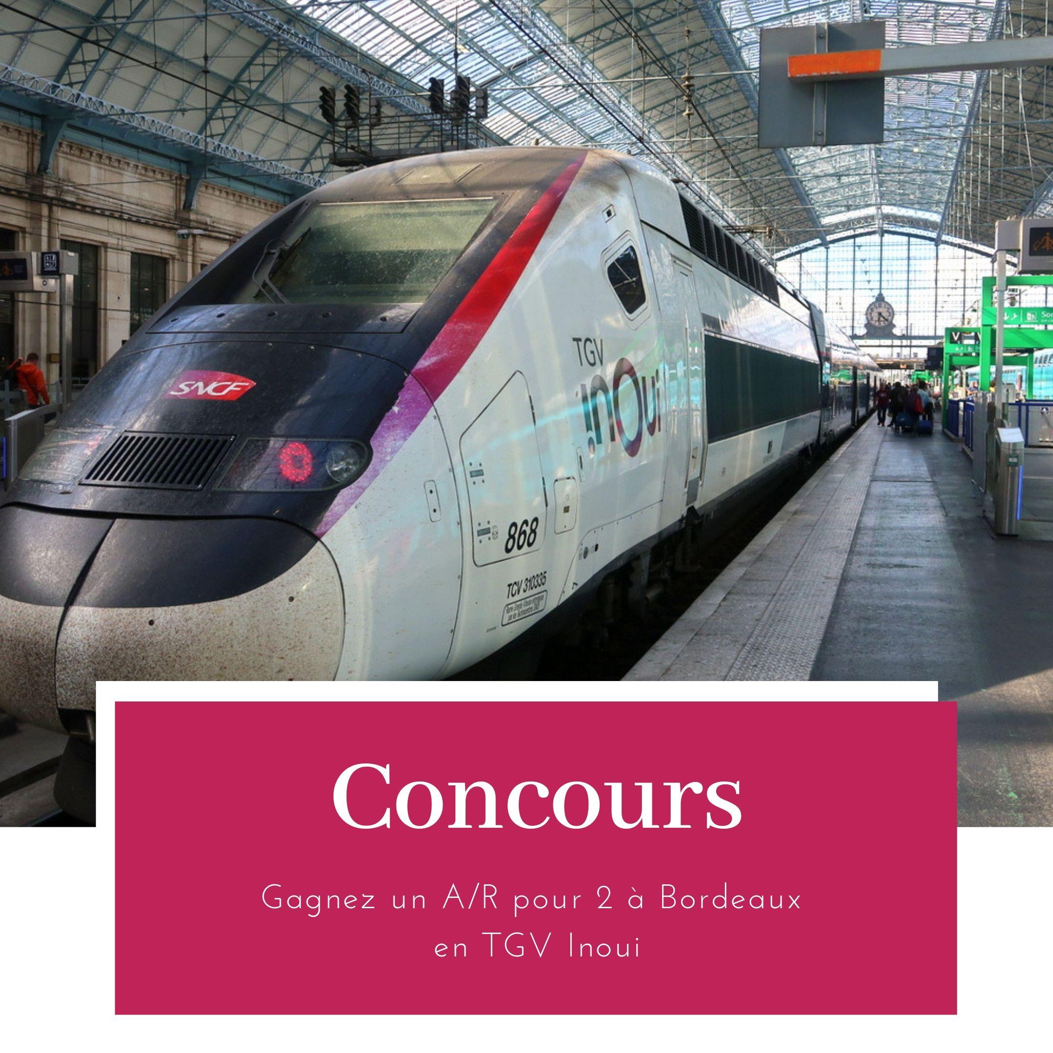 Concours TGV Inoui