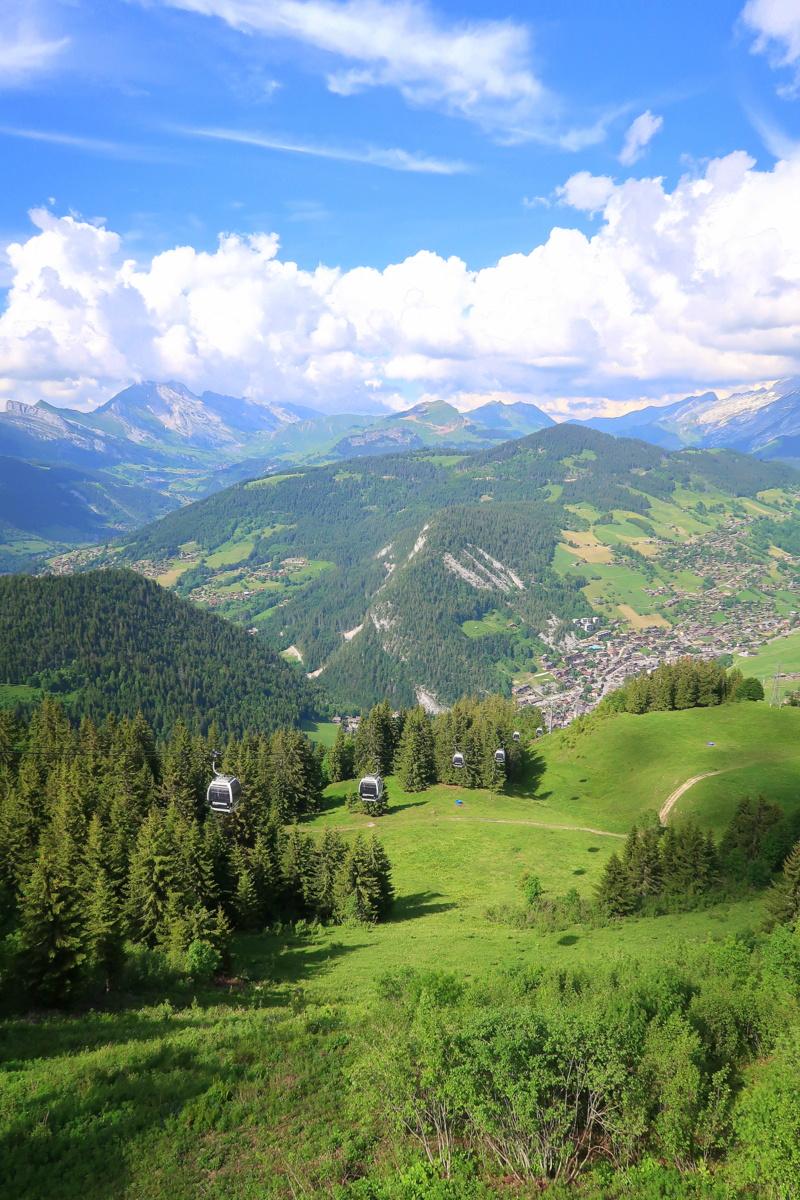 domaine skiable La Clusaz l'été