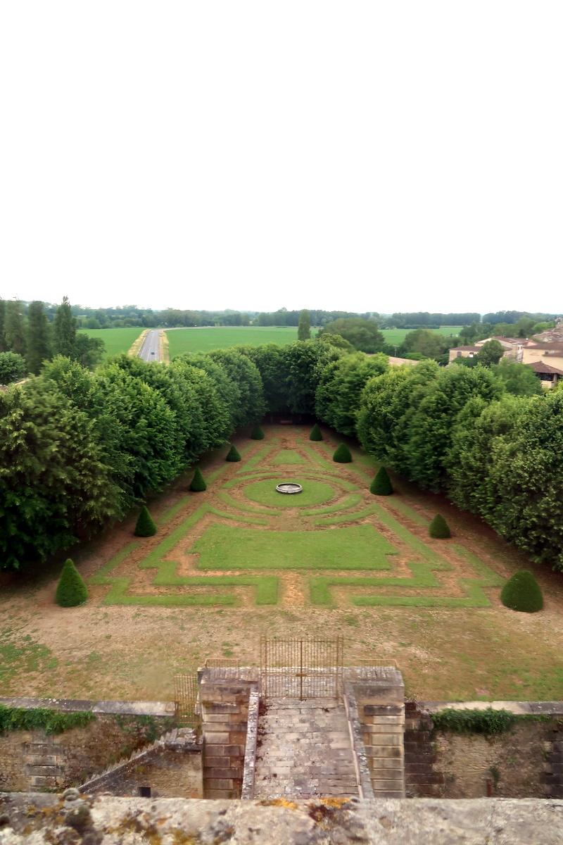 Le château ducal de Cadillac, près de Bordeaux