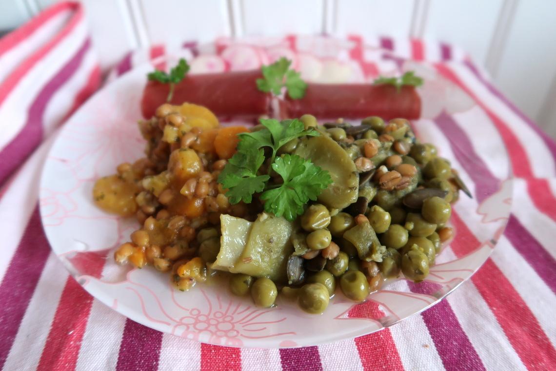 D'Aucy - Légumes et céréales