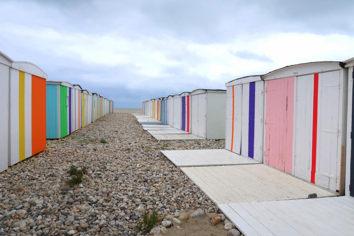 Le Havre - Cabanes de plage