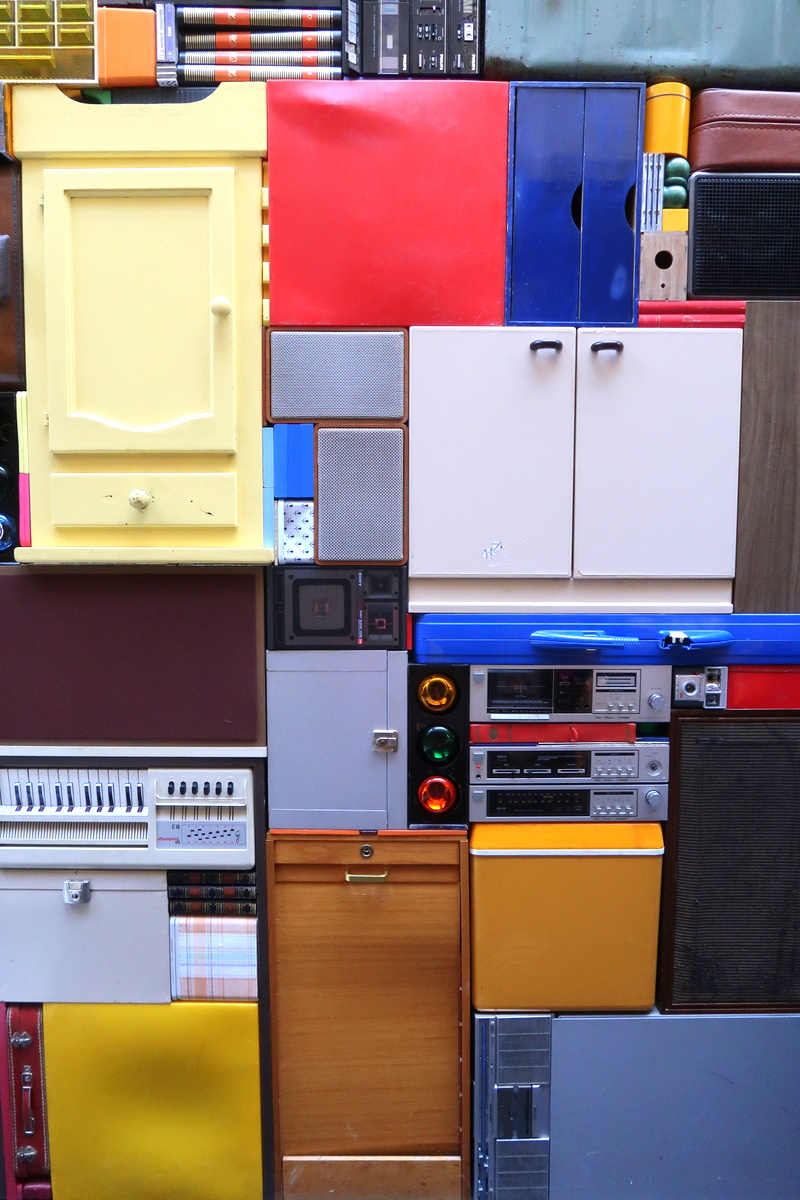 Le Havre - Exhibit, le Tetris