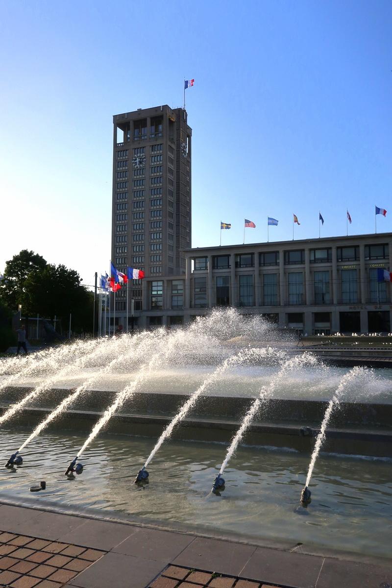 Le Havre - La mairie et sa vue sur la ville