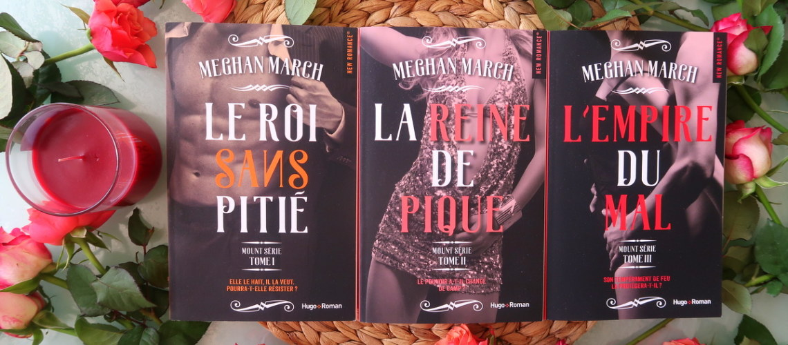 Mount série, tome 3 – L'Empire du mal – Meghan March