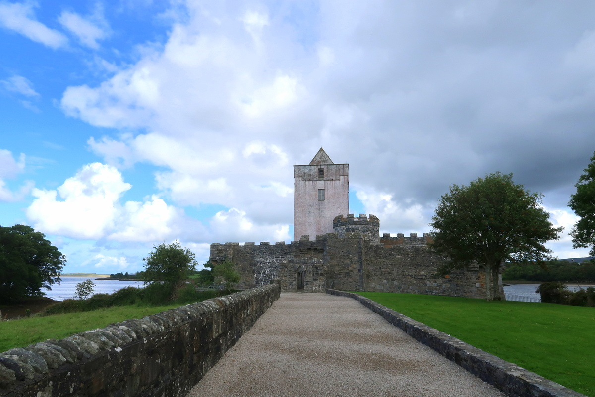 Doe Castle, Donegal, Irlande