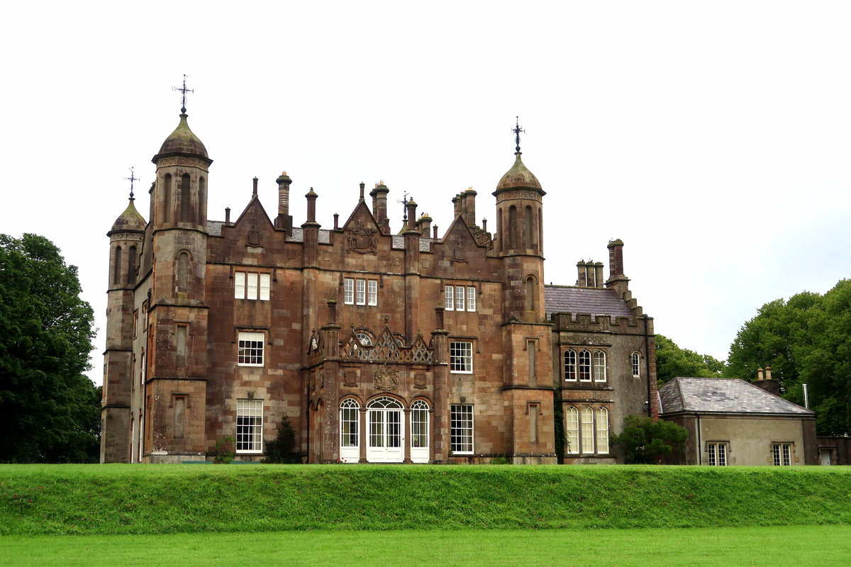 Irlande du Nord - Glenarm castle