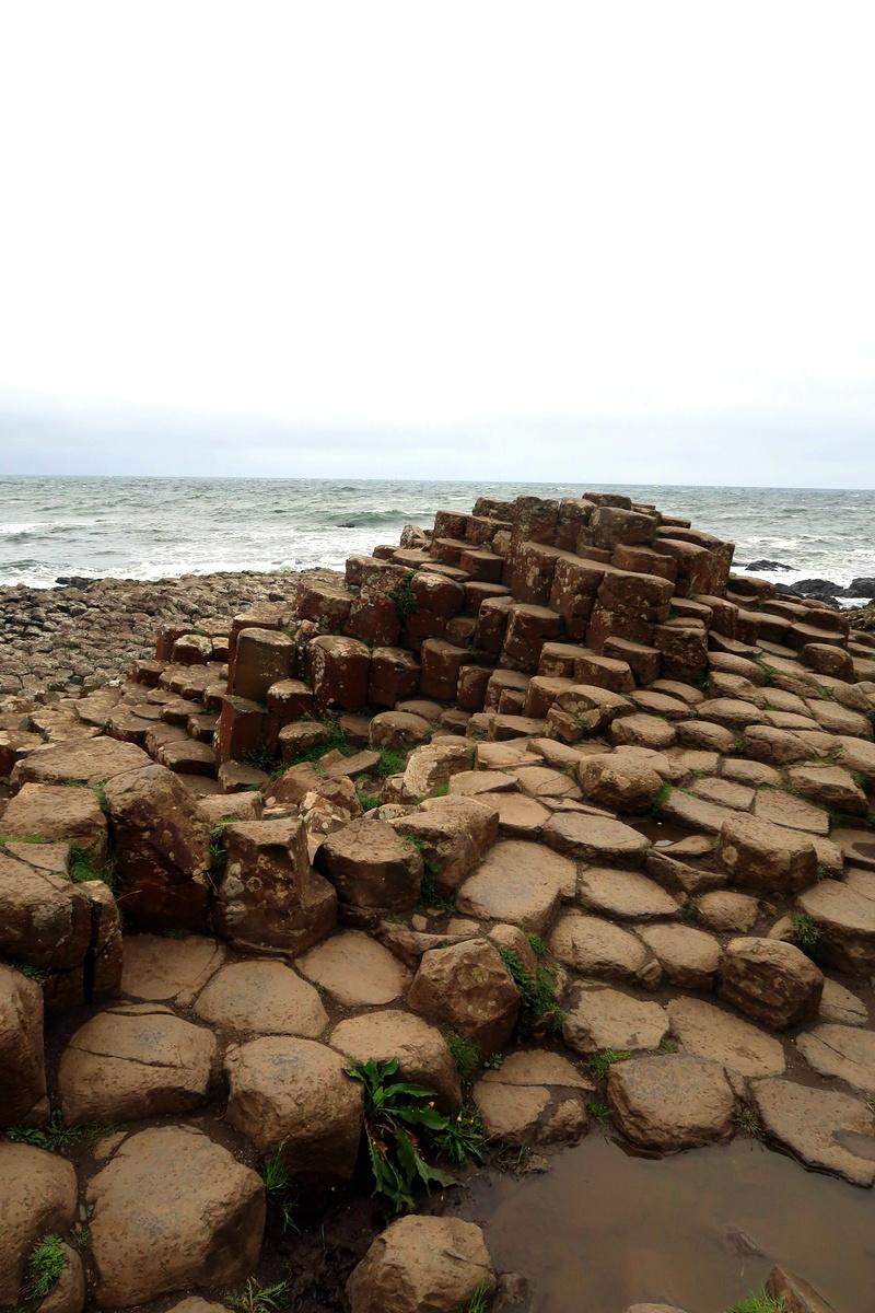 Irlande du Nord - La chaussée des géants, giant's causeway - Photo : le blog de Lili