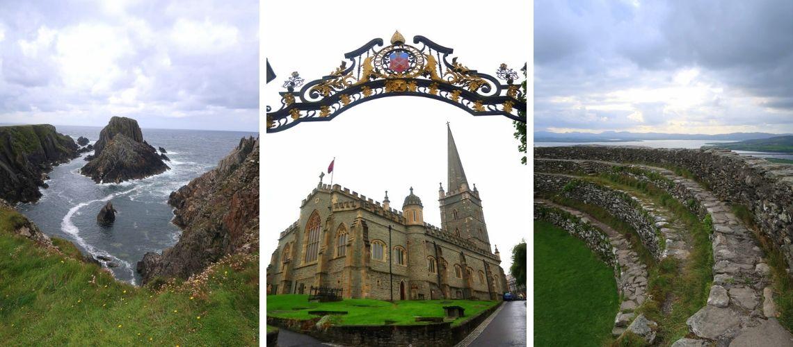 Irlande - Voyage de Derry à Letterkenny