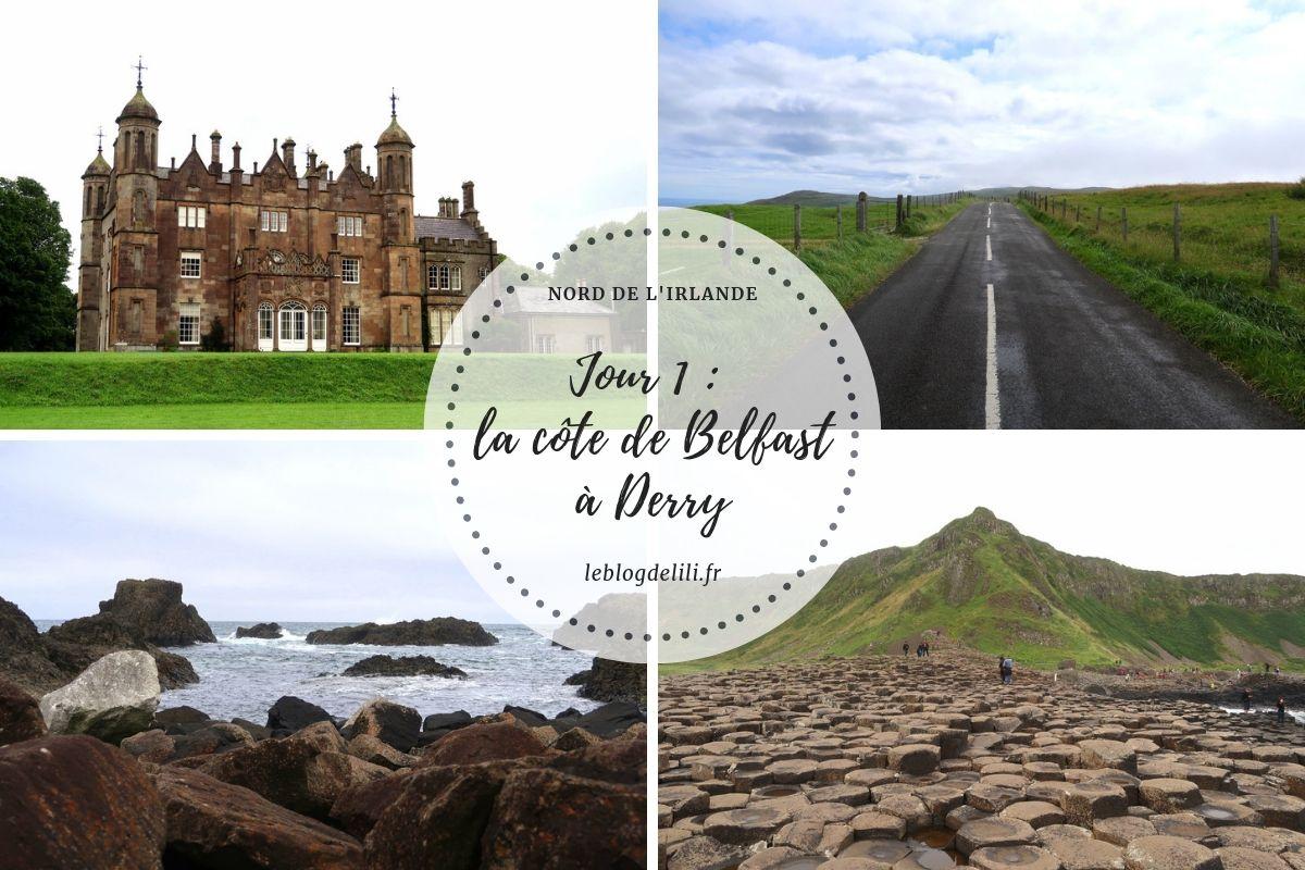 Blog voyage - Jour 1 - Irlande du Nord