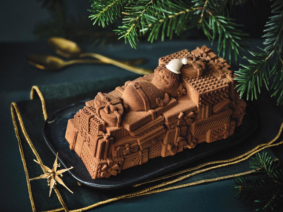 Noël 2019 de Picard - Bûche glacée chocolat