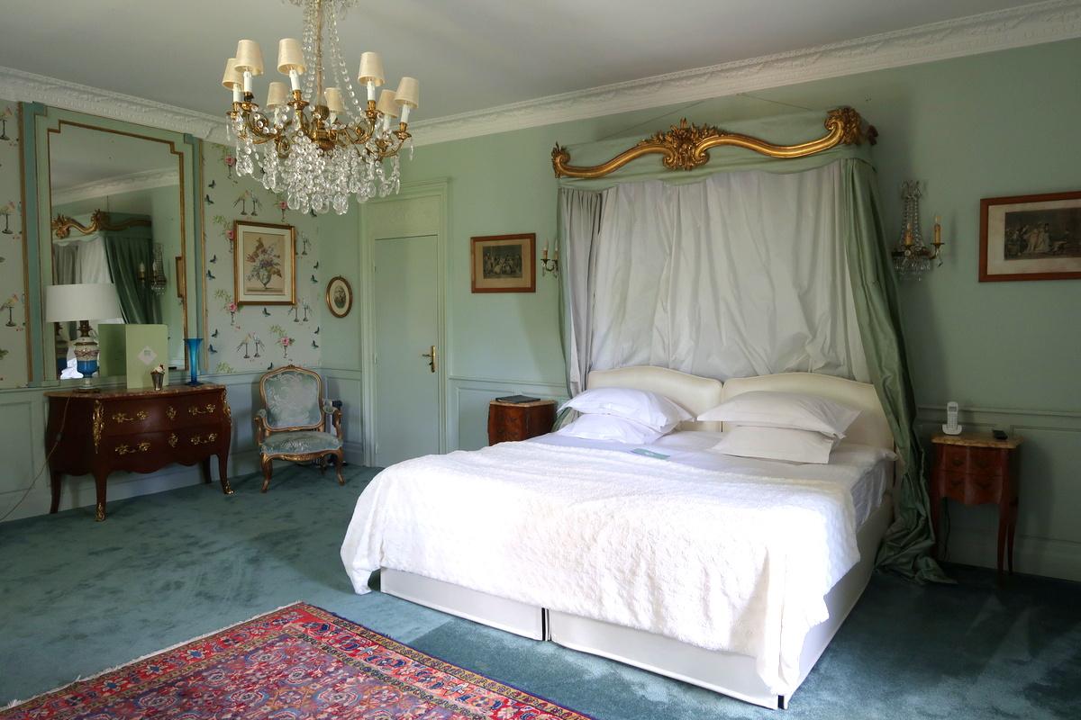Château d'Apigné, Rennes, chambre Hortense