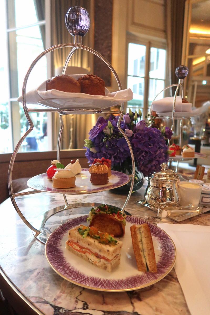 Tea time à l'hôtel de Crillon, goûter des Lords