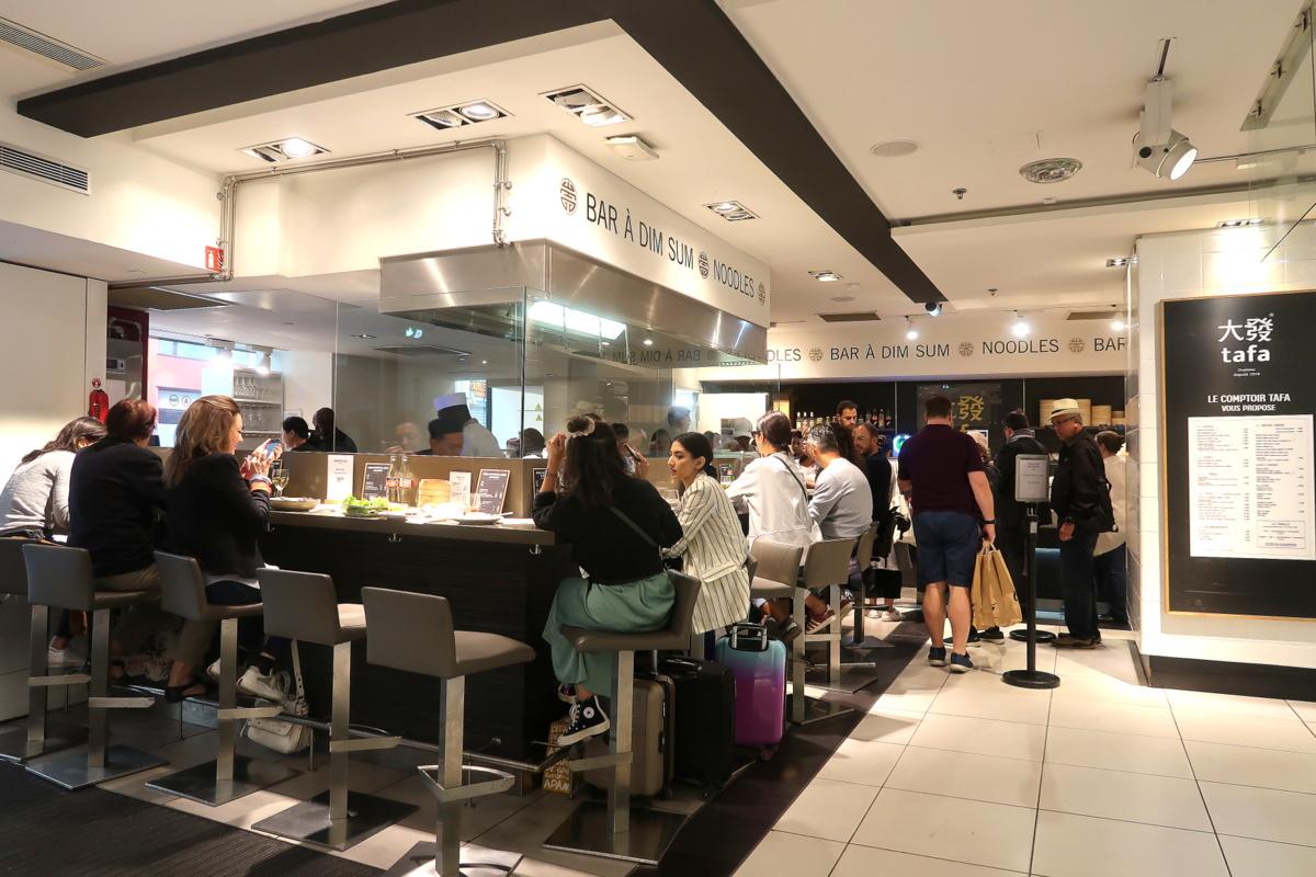 Tafa, bar à dim sum - Lafayette gourmet
